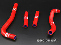 For Honda CRF150 CRF150 R CRF150R 2007-2009 07 08 09 Silicone Radiator Hose Red