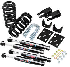"""1973-87 Chevy C10 Western Chassis Complete Lowering Kit - 4"""" Front 5"""" Rear"""