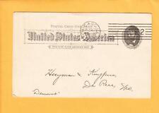 Chicago Machine 1892 Grant Postal Kellog Newspaper Co to De Pere Democrat WS z33
