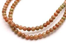 Semi Precious Autumn Jasper Round Beads 4MM