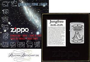 Zippo Sternzeichen JUNGFRAU Zodiac Virgo Limited Edition 2002077
