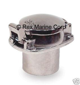Polished Aluminum Flip Top Gas Cap Fuel Fill Boats Rods crosses to Empi 16-6033