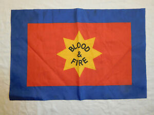 Blood & Fire Banner Pennant Flag Salvation Army