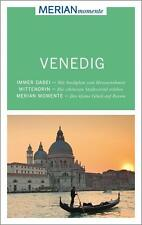 REISEFÜHRER Venedig mit Stadtplan ~ MERIAN momente  ~wie neu~ UNGELESEN Venezia