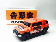 JAPAN CUSTOM TOMY TOMICA TOYOTA FJ CRUISER YOSHINOYA RACING 1/66 DIECAST CAR