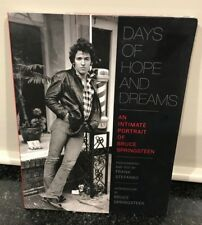 Music Book - Days of Hope and Dreams an Intimate Portrait of Bruce Springsteen
