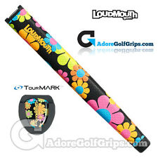 TourMARK Loudmouth Magic Bus Jumbo Pistol Putter Grip - Black / Pink / Blue