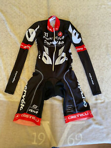 CASTELLI Cycling Long Sleeve Skinsuit BRAND NEW CERVELO ORIGINAL SIZE M Unisex