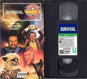 Doctor Who VHS Survival Sylvester McCoy (Seventh Doctor)