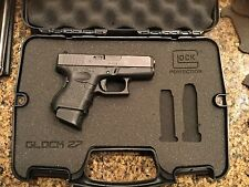 Custom Case for GLOCK 27 - Laser Cut Inserts Perfect Fit!