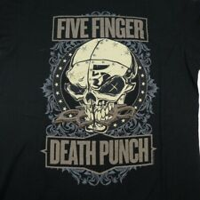 5Fdp Five Finger Death Punch Concert 2014 Tour Tee T Shirt Sz Womens M Metal