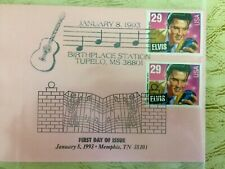 500 Elvis Presley 1st Day Issued U.S. Postage Stamps from Graceland & Tupelo
