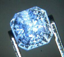 Light Blue Ceylon Sapphire 0.68ct Octagon 4.5x4mm Loose Natural Gemstone VS