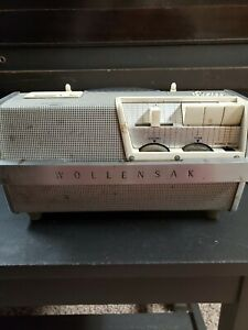 Wollensak Stereo Tape Magnetic Recorder With Original Microphone Model T-1515