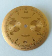 Swiss Made Landeron 51 Watch Chronograph Dial 34.70mm Approx