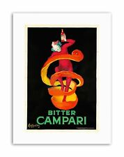 BITTER CAMPARI. 1921 Home Decor POSTER PUBBLICITARI tela art prints