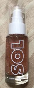 Sol Body Shimmering Dry Oil .Mai Tai .Sparkle Shimmer!.88fl Oz/26.0 Ml,new