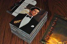 James Bond GoldenEye 90 card base set + 5 wrappers Golden Eye 007