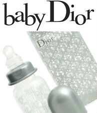 100%AUTHENTIC RARE BABY DIOR SILVER BOY or Girl Signature BOTTLE WORLD SELL OUT