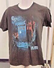 Dr. Who And The Daleks T Shirt Medium Tardis Bbc Science Fiction British Icon