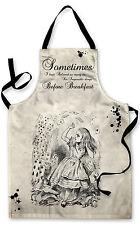 Alice nel paese delle meraviglie citazione 2 Design Grembiule Barbecue Cucina Cucina Dipinto Grande Regalo