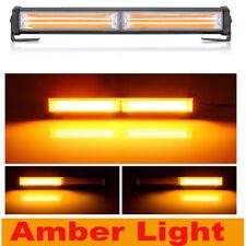 36W Cree LED Emergency Warning Hazard Flash Strobe Beacon Light Bar Yellow Amber