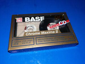 BASF Chrome Maxima II 90 min  Kassette Zustand: Neu eingeschweisst