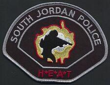 SWAT UTAH  H.E.A.T. SOUTH JORDAN  Police Patch SEK  Polizei Abzeichen mit MP