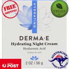 Derma E Hydrating Vegan Night Cream 2 oz (56 g) Cruelty-Free, Gluten-Free