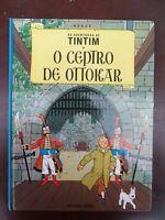 Tintin - Le sceptre d'Ottokar - portugais - DIFUSAO VERBO - 1988 - ETAT NEUF!!!