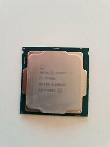 Intel core i7-7700k 4×4.2GHZ