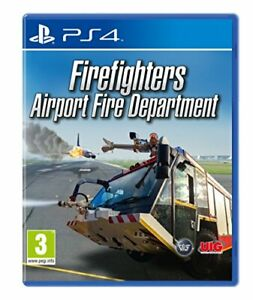 Firefighters: Airport Fire Department (PS4) (New)