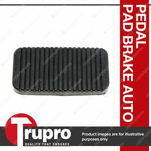 1 x Trupro Pedal Pad - Brake Auto for Proton Satria C90 1.5L 4cyl 2/97-1/06