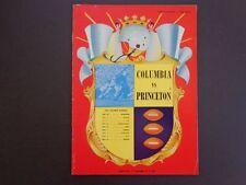 5 vintage sports programs 4 Columbia football, Williams Carnival '48-55 INV2365