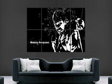 MANNY PACQUIAO BOXING LEGEND SPORT ARTISTIC   ART HUGE GIANT POSTER PRINT LARGE