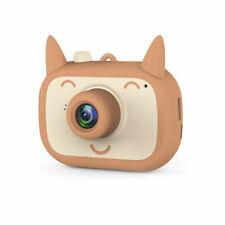 "Mini Kids Cartoon Digital Camera 2.0"" HD Without TF storage card brown"