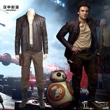 HZYM Star Wars The Last Jedi Poe Dameron Cosplay Costume Full Set