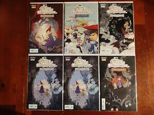 Kaboom Comics Over The Garden Wall Soulful Symphonies #1-4 Full Series Comic Lot