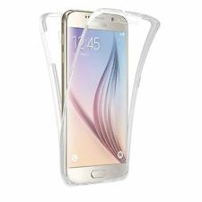 FUNDA GEL TRANSPARENTE DOBLE DELANTERA TACTIL Para SAMSUNG GALAXY J3 2017