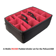Padded divider set to fit Pelican 1560 Cases (NO Case)  Free Shipping