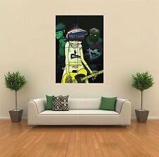 Gorillaz la banda de música Nuevo Gigante gran impresión de arte cartel Imagen Pared G446
