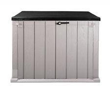 Mülltonnenbox Geräteschuppen Storer Plus 842 Liter Gartenschuppen abschlie�Ÿbar