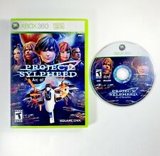 Project Sylpheed: Arc of Deception (Microsoft Xbox 360, 2007) Game Disc & Case