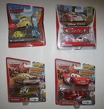 Disney Cars 6 Set Guido Luigi Todoroki Tex Radiator Lightning Boost TRU Diecast