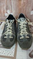 dsquared2 men's boys  leather trainers size 38 eu/5uk /made in Italy shoes di