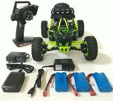 WLtoys 12428, 2.4GHz, 4WD, 3batteries, 2chargers, RC Off-road Car. USA dealer.