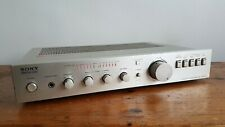 Sony TA-F40 Stereo Amplifier. Pulse Power Supply.