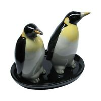 Animal penguin salt and pepper penguins shakers pots ceramic penguin cruet set