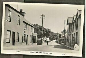 XTK Early Postcard, Llaneilian Road, Amlwch Port,  Anglesey