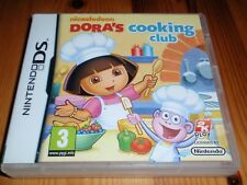 Dora's Cooking Club for Nintendo DS,Lite,DSi & 3DS